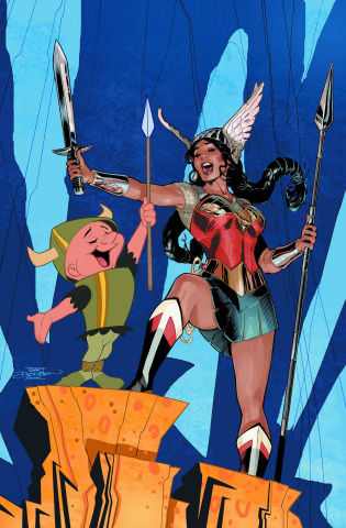 Wonder Woman #46 (Looney Tunes Cover)