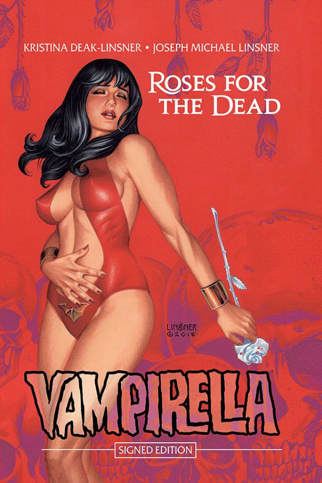 Vampirella: Roses for the Dead (Signed Edition)