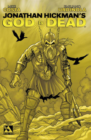 God Is Dead #32 (Gilded Retailer Cover)