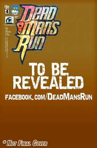 Dead Man's Run #4 (Ryan Cover)