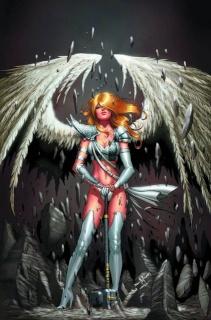 Grimm Universe #1: Neptune & Angel (Qualano Cover)