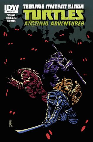 Teenage Mutant Ninja Turtles: Amazing Adventures #1 (Subscription Cover)