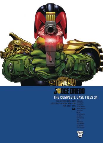 Judge Dredd: The Complete Case Files Vol. 34