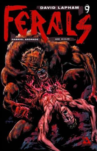 Ferals #9 (Gore Cover)