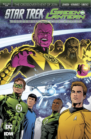 Star Trek / Green Lantern #1