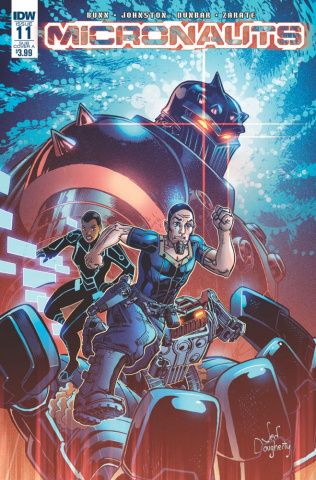 Micronauts #11 (Subscription Cover)
