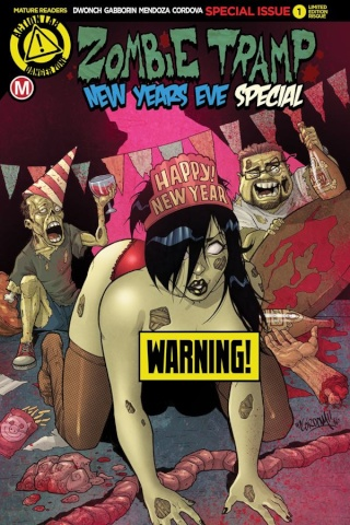 Zombie Tramp New Years Eve 2016 (Cordova Risque Cover)