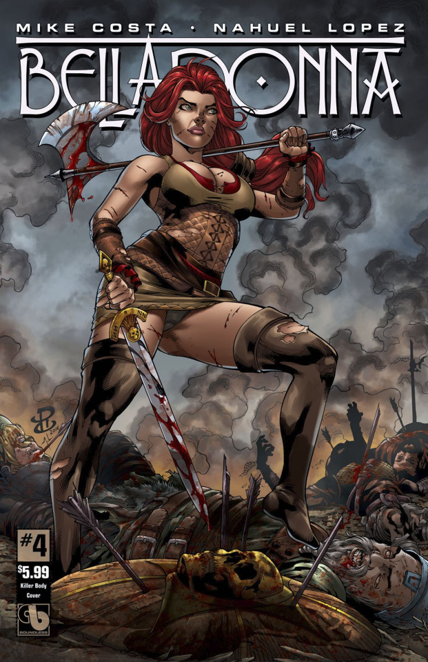 Belladonna #4 (Killer Body Cover)