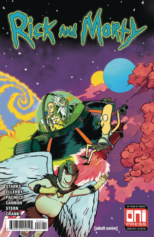 Rick and Morty #46 (Cover B)
