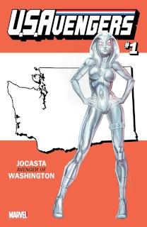 U.S.Avengers #1 (Reis Washington State Cover)