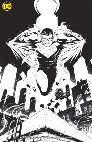 Action Comics #1001 (Inks Only Cover)
