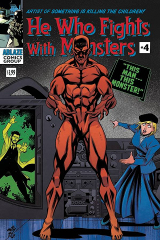 He Who Fights With Monsters #4 (Moy R. Cover)