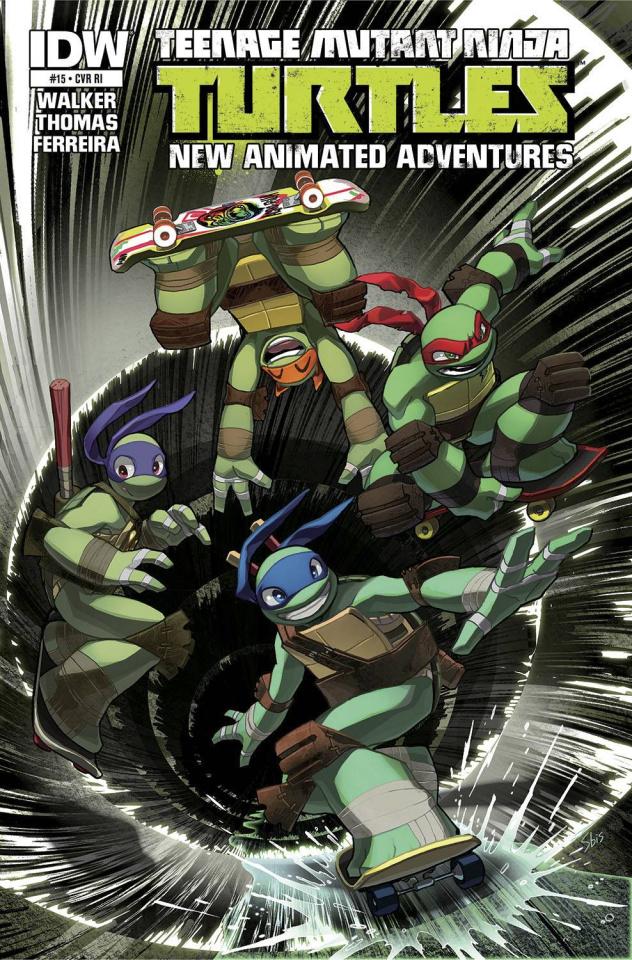 Teenage Mutant Ninja Turtles: New Animated Adventures #15