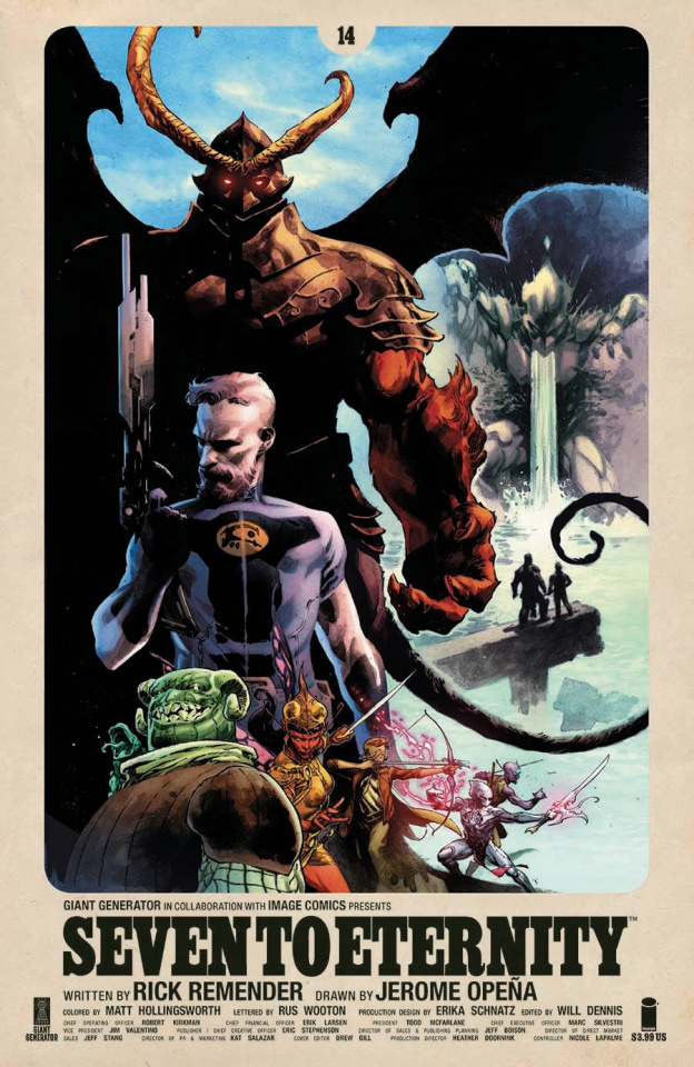 Seven to Eternity #14 (Opena & Hollingsworth Cover)