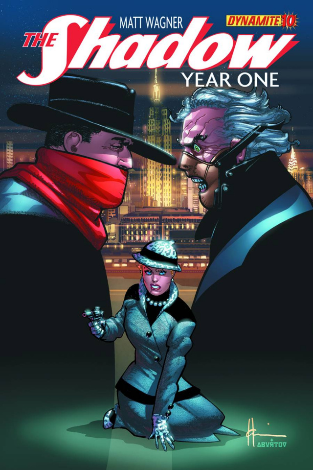 The Shadow: Year One #10 (Chaykin Cover)
