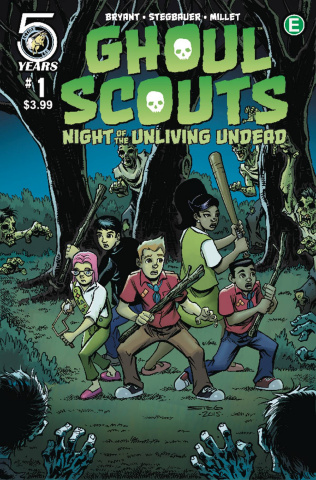 Ghoul Scouts: Night of the Unliving Undead #1 (Stegbauer Cover)