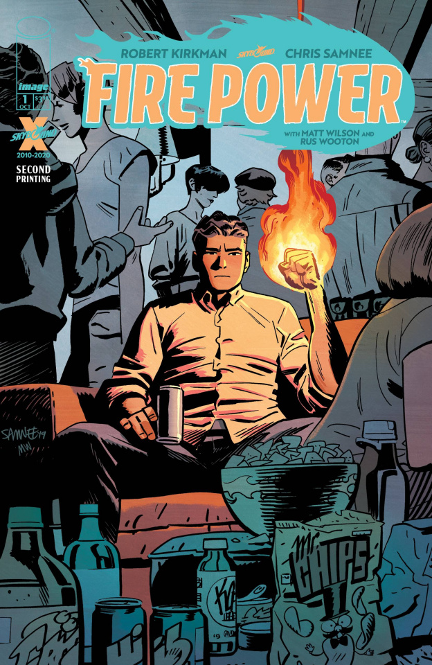 Fire Power #1 (2nd Printing)