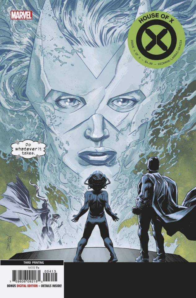 House of X #4 (Shalvey 3rd Printing)