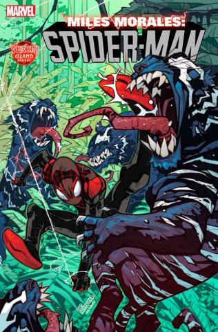 Miles Morales: Spider-Man #13 (Petrovich Venom Island Cover)