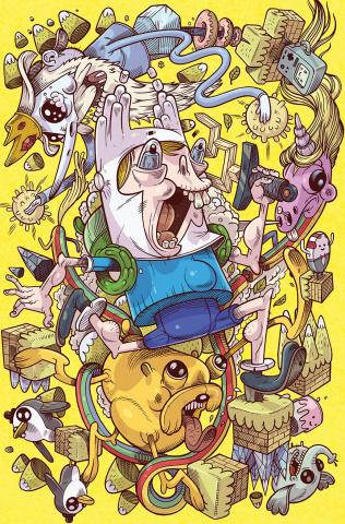 Adventure Time Comics #2 (15 Copy Calame Cover)