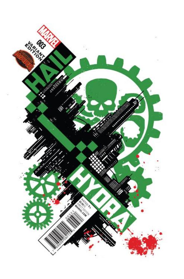 Hail Hydra #3 (Aja Cover)