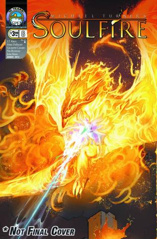 Soulfire #8 (Debalfo Cover)
