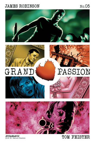 Grand Passion #5 (Cassaday Cover)