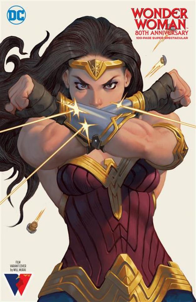 Wonder Woman: 80th Anniversary 100-Page Super Spectacular #1 (Will Murai Film Cover)