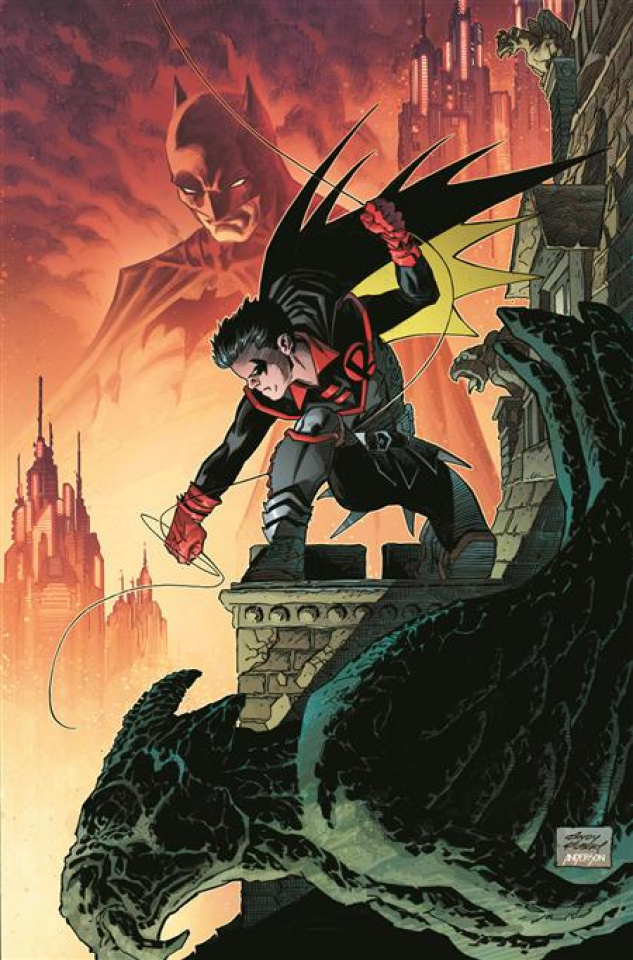 Robin #1 (Team Andy Kubert Card Stock Cover)