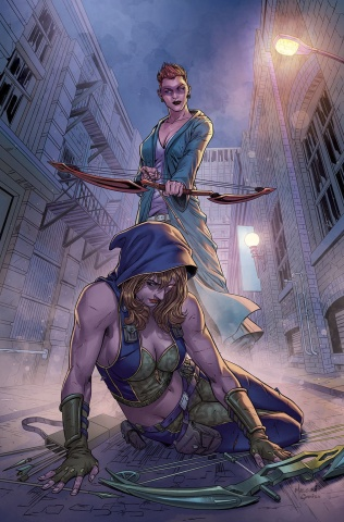 Grimm Fairy Tales: Robyn Hood - I Love NY #11 (Malsuni Cover)