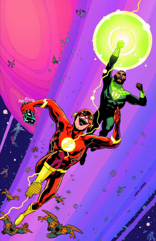 The Flash #44 (Green Lantern 75th Anniversary Cover)