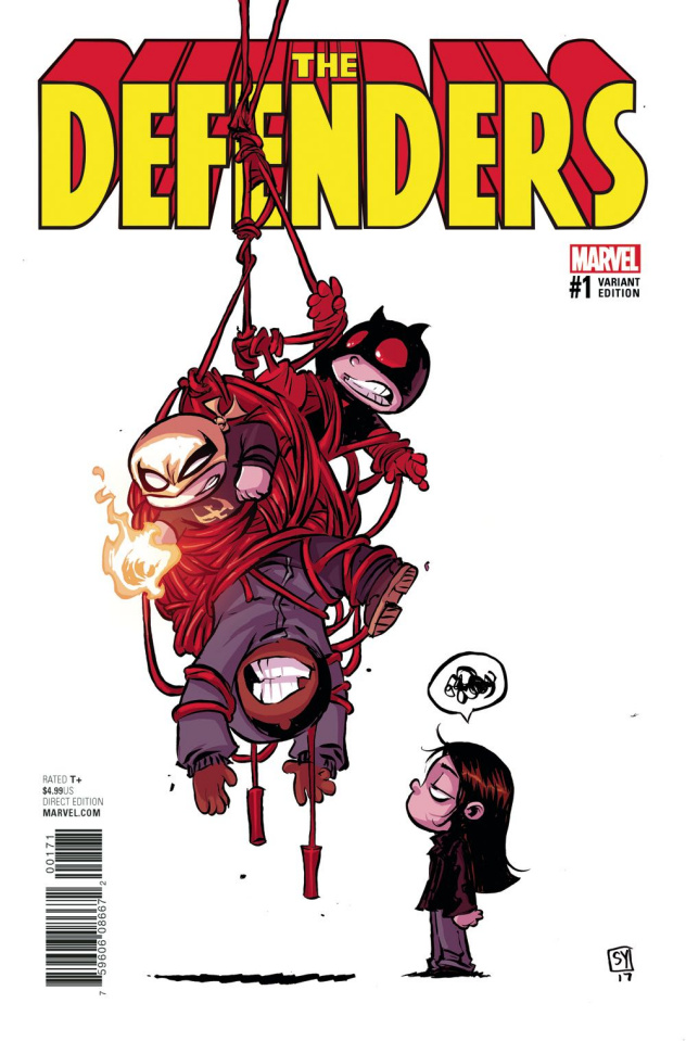 The Defenders #1 (Young Cover)