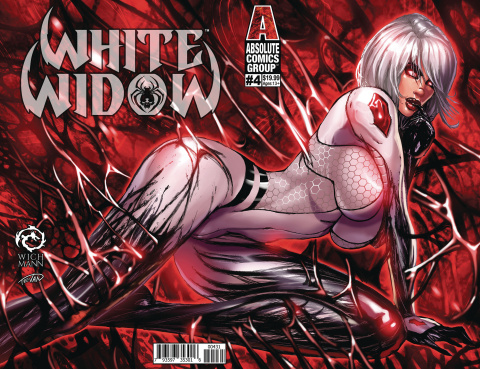 White Widow #4 (Wichmann Lenticular Cover)