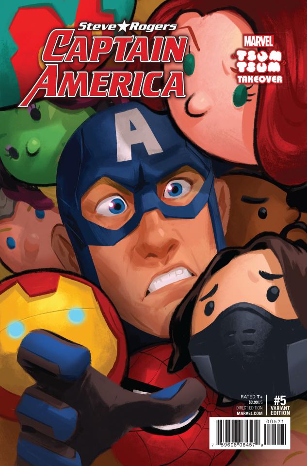 Captain America: Steve Rogers #5 (Tsum Tsum Cover)