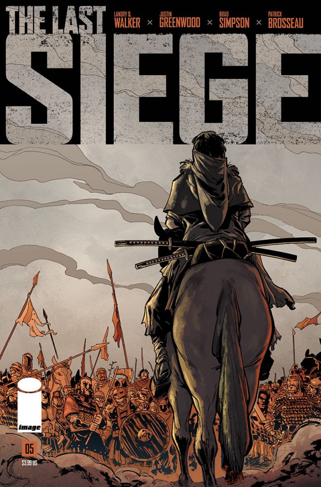 The Last Siege #5 (Greenwood Cover)