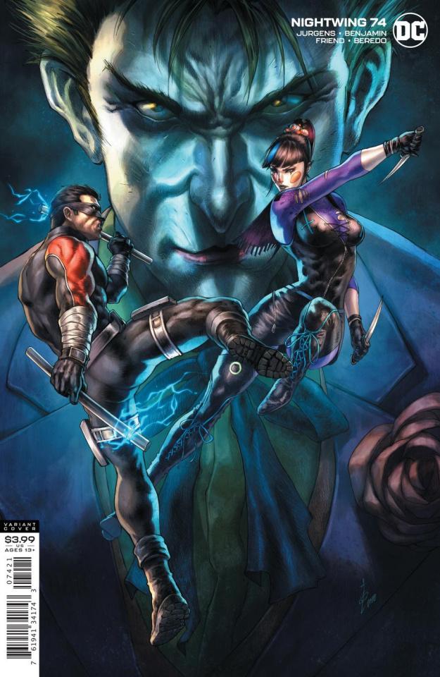 Nightwing #74 (Alan Quah Cover)