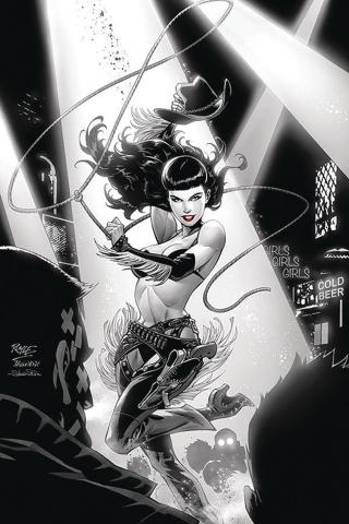 Bettie Page: Unbound #10 (40 Copy Royle Virgin Cover)