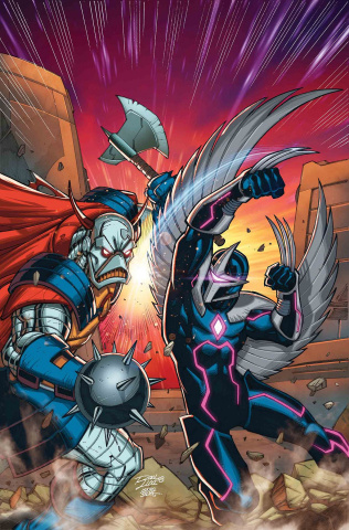 Infinity Countdown: Darkhawk #1 (Lim Cover)