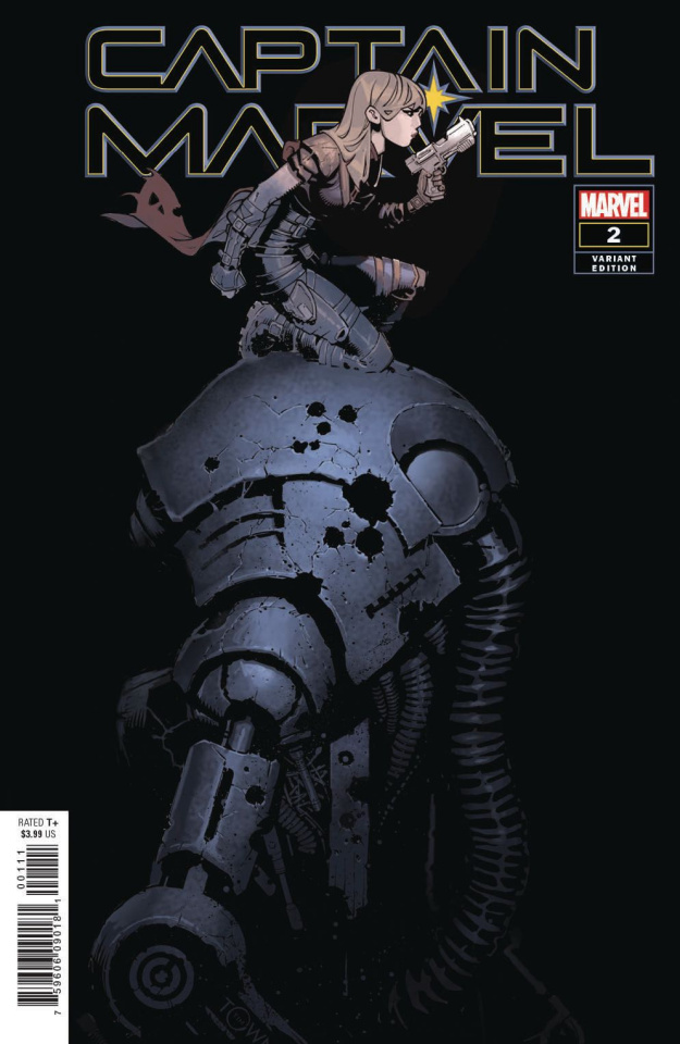Captain Marvel #2 (Bachalo Cover)