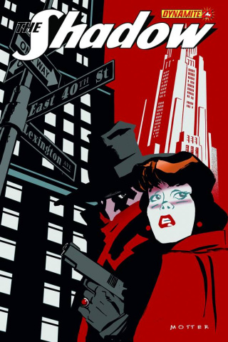 The Shadow #23 (Motter Cover)
