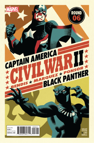Civil War II #6 (Michael Cho Cover)