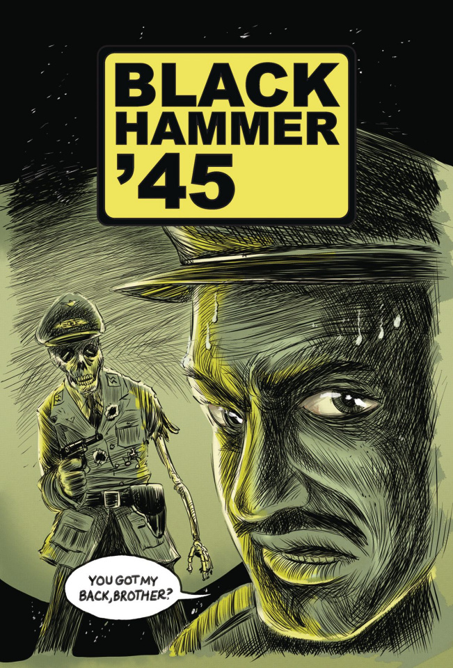 Black Hammer '45: From the World of Black Hammer #4 (Kindt Cover)