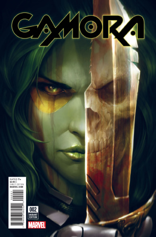 Gamora #2 (Mattina Cover)