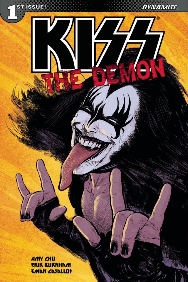KISS: The Demon #1 (Strahm Cover)