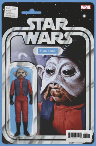 Star Wars #58 (Christopher Action Figure Cover)