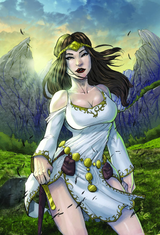 Grimm Fairy Tales: Quest #1 (Cafaro Cover)