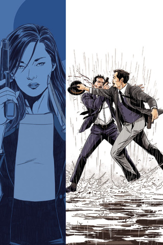James Bond: 007 #2 (20 Copy Laming Virgin Cover)