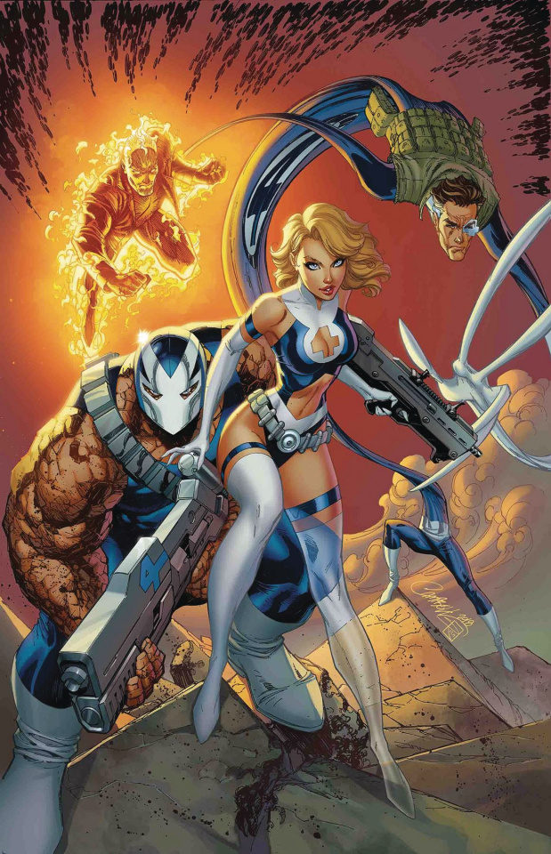Weapon H #6 (J Scott Campbell Return of Fantastic Four Cover)