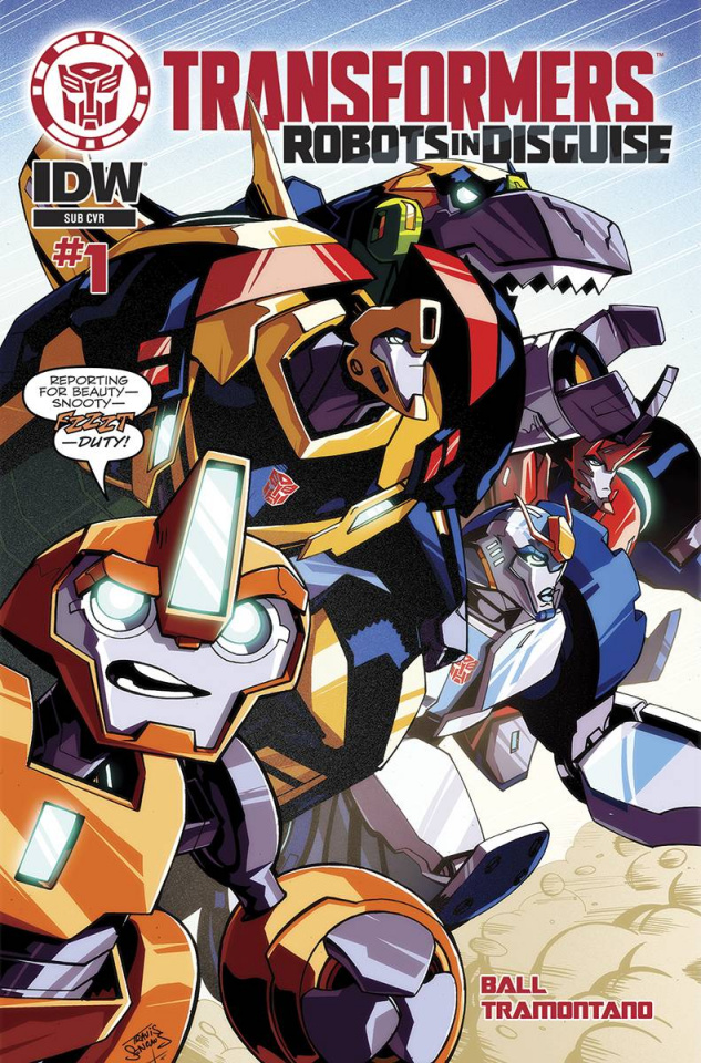 The Transformers: Robots in Disguise #1 (Subscription Cover)