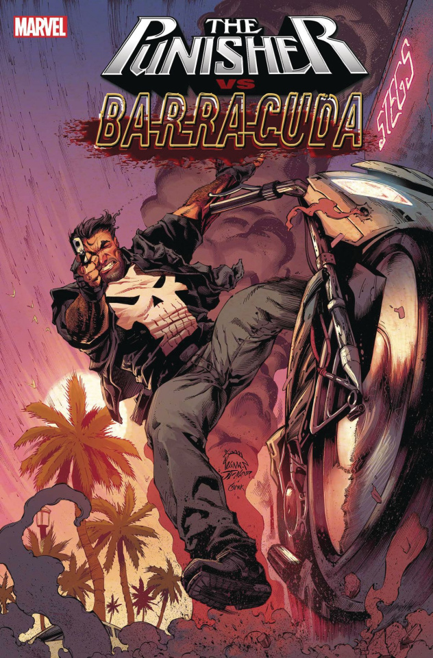 The Punisher vs. Barracuda #1